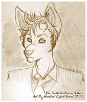 The Tenth Doctor in Anthro by cybre
