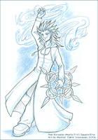 Axel :: Kingdom Hearts II by cybre