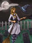 Halloween Witch by kimikiwi48