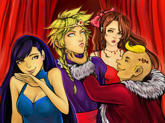 FFVII Moments: Don Corneo picks his chosen 'girl' by SophieBrigitteXD