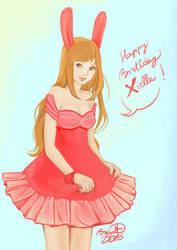Happy birthday Xiella by SophieBrigitteXD