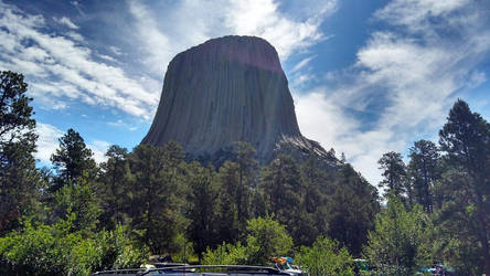 Devils Tower by Ra-Ishtar