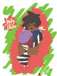 Indy + Shiru by Wallebee