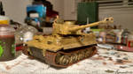 Afrika Korps Tiger I (WIP) by SigmundFries