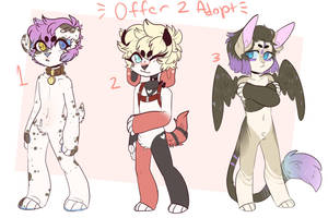 Offer to Adopt 3 by iN3LL3H