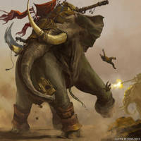 War Elephant by ISOTXART
