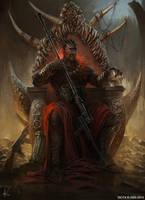 King Shaka Zulu II by ISOTXART