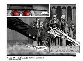Tales of the Paladin Page 8 by EzekielCrowe