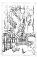Pencils of Page 19 Sanctus Sanatorium by EzekielCrowe