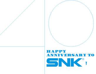 Happy 40th anniversary to SNK! by Vuxovich