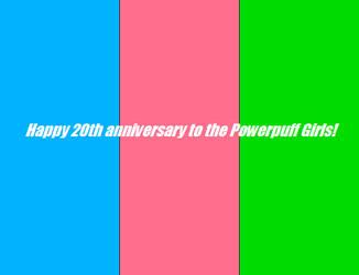 Happy 20th anniversary to the Powerpuff Girls! by Vuxovich