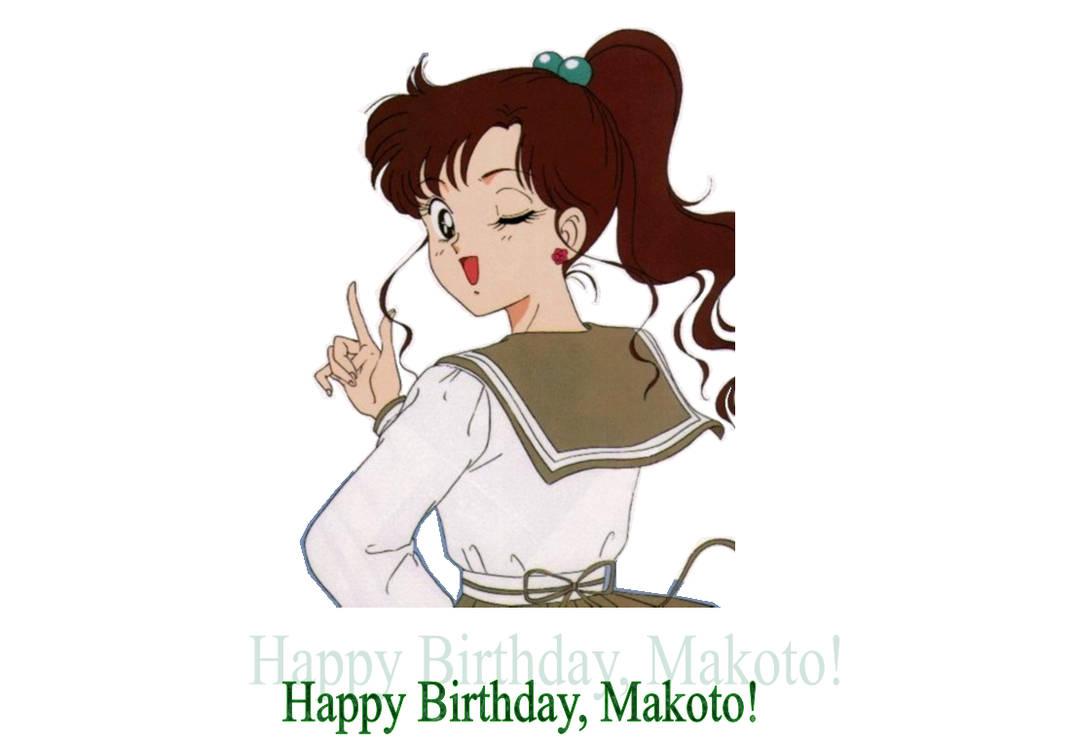 Happy Birthday, Makoto! by Vuxovich