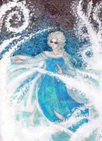 Frozen: Snowstorm by MannaKana