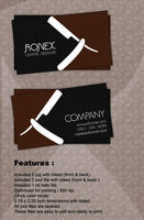Saloon Business Card by xnOrpix