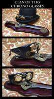 Steampunk Chrono Glasses by CaelynTek