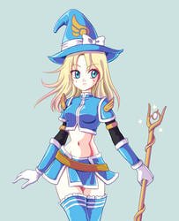 Sorceress Lux by Musettethecat