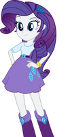 Rarity Vector (Equestria Girls) by MLP-Mayhem