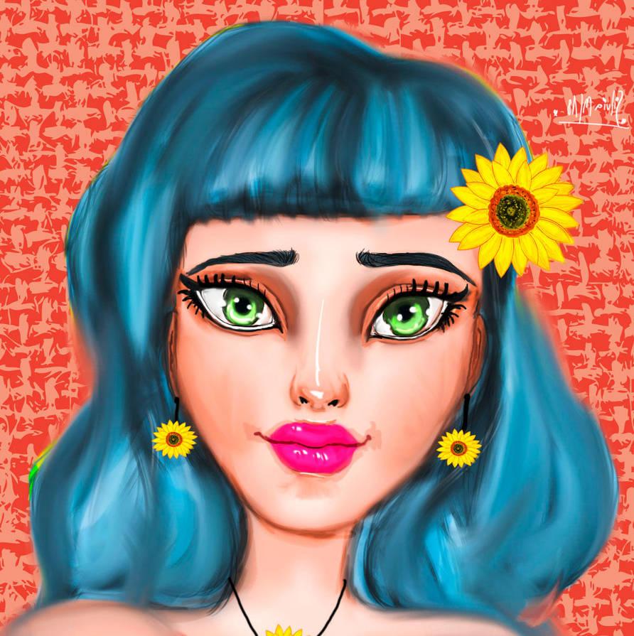 Bluehair by SilviaMS