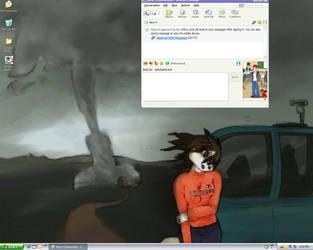 My School Desktop by SpikyhairdVash