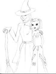 Zelda and Elphie by SpikyhairdVash