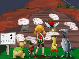 Omega Ruby Nuzlocke - Day 3 (End) by silversword