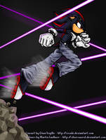 Shadow Lasers - colourwork by silversword