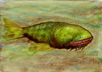 Untitled Fish by Atzihbaal