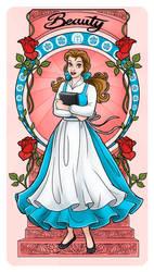 Belle - Art Nouveau by Paola-Tosca