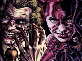 1- Joker and Harley by chupa-chups-life