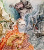 Bitbeasts of Zodiac by aussie-dragon
