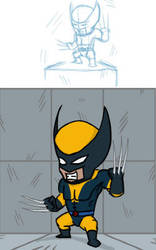 Wolverine by inkfood