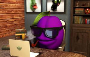 Look @ dat plum by Edis7771