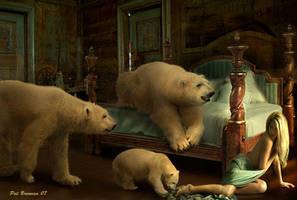 Goldilocks and the bears by patriciabrennan