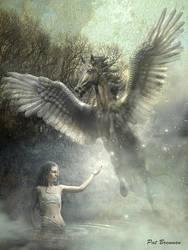 Raising Pegasus by patriciabrennan