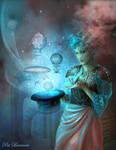 Steampunk Sorceress by patriciabrennan
