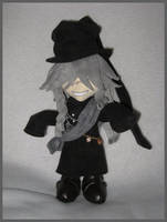 Undertaker Plushie by kamidake