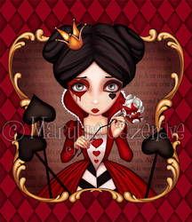 Queen of Hearts by MarylineCazenave