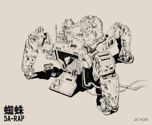 5A-RAP Mech_LINE by Jiahow