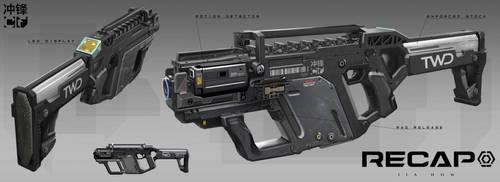 RECAP_Submachine gun 1 by Jiahow