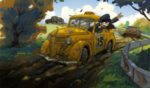 dirty race by Masha-Ko