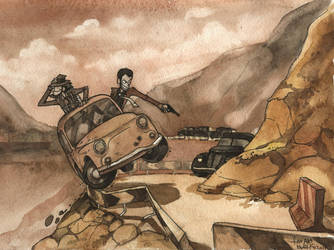 lupin III fan art by Masha-Ko