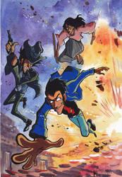 Lupin 3rd by Masha-Ko