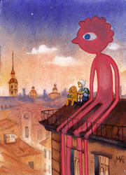 St.Petersburg time by Masha-Ko