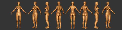 Female Base Model Study by NeptuneImaging84