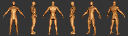 Male Base Model Study by NeptuneImaging84