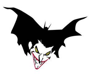 Joker with a Bat in His Belfry by Bat-Dan