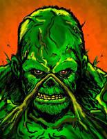 Swamp Thing by Bat-Dan