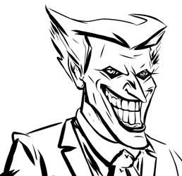 Joker Colorful ButNot by Bat-Dan