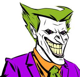 Joker Colorful by Bat-Dan