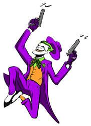 Joker Shooting color by Bat-Dan